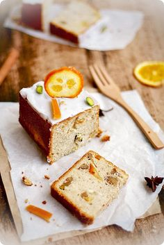 Fragrant, beautifully winter worthy Anise and Candied Orange Cake. #cake #winter #orange #spice #food #cooking #dessert #snacks