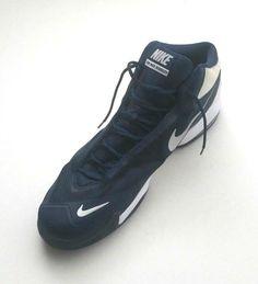 size 40 abc22 35e15 Nike Men s 813318-402 Air Max Audacity 2015 Navy White Basketball Shoes  Size 20