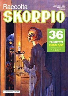 Fumetti EDITORIALE AUREA, Collana SKORPIO RACCOLTA n°395 Aprile 2007