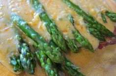 Asparagus au Gratin with Gluten Free Mama's Flour Blend    G-Free Foodie #GlutenFree
