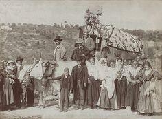 """Carro delle famiglie Di Palma e Ferri, degli anni 1912-1917, del tipo c.d. """"a botte"""" [foto Famiglia Ferri]"""