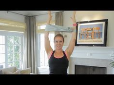 Want to tone and tighten your upper arms? Angela Parker shows you an effective workout move for slimmer, sexier arms!    Angela Parker - the fitness expert behind http://bodyinspiredfitness.com/ - shares a simple exercise to tone the back of your shoulder and tricep.    *Always consult your physician before starting any diet or exercise program.*    :...