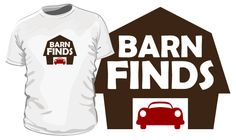 Get Your Barn Finds T-Shirt Today! - http://barnfinds.com/get-your-barn-finds-t-shirt-today/