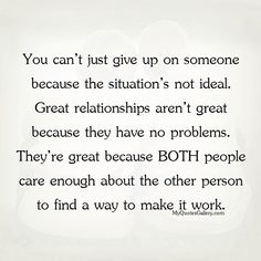 You can't just give up on someone - MyQuotesGallery.com