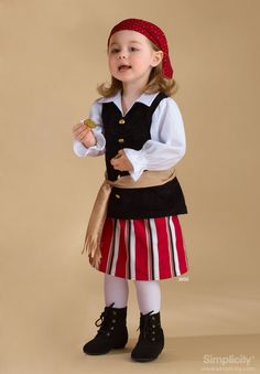 Toddler Costumes Costume Sewing Pattern 3650 Simplicity