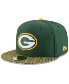 d1910417530 New Era Boys  Green Bay Packers Sideline 59FIFTY Fitted Cap - Green 6 3