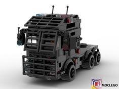 LEGO S. Lorry - building instructions and parts list. Lego Police, Lego Army, Lego Lego, Lego Mecha, Lego Bionicle, Lego Wheels, Lego Truck, Armas Ninja, Lego Ship