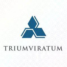 Exclusive Customizable Triunghiular Logo For Sale: Triumviratum | StockLogos.com