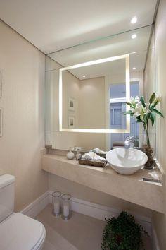 Otthon&otthon:fürdőszoba,mosókonyha Ideia para lavabo | Apartamento Idylle | GS+AD