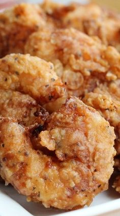 Southern-Fried Shrimp with Homemade Cocktail Sauce - How To Feed A Loon