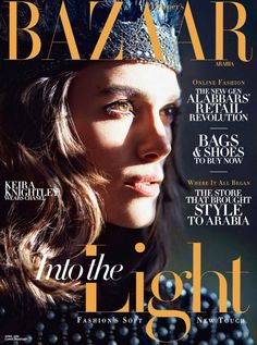 Keira Knightley for Harper's Bazaar Arabia, April 2014