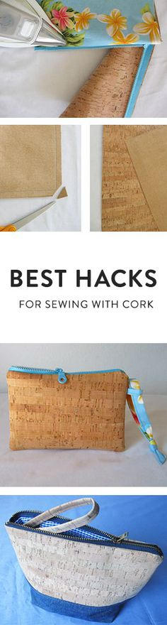 Here's what you need to know about sewing with cork. @craftsy
