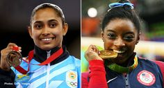Simone Biles praises Dipa Karmakar doing produnova vault దీపలా నేను చేయలేను.. ప్రపంచ జిమ్నాస్టిక్స్లో కలికితురాయిగా పేర్కొనదగిన జిమ్నాస్ట్ సిమోన్ బైల్స్. రియో ఒలింపిక్స్లో నాలుగు బంగారు పతకాలను గెలుచుకొని..https://goo.gl/0W0ZXA #SimoneBiles #DipaKarmakar #ProdunovaVault #Rio2016 #VasundharaKutumbam