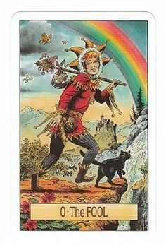 tarot cards the fool | The Fool - Arcus Arcanum Tarot