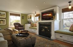 Lake Country Builders - traditional - living room - minneapolis - Lake Country Builders