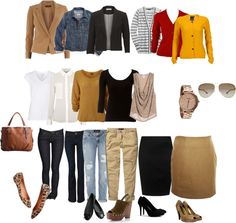 """""""MAMI capsule wardrobe"""" by chicandclassic on Polyvore"""
