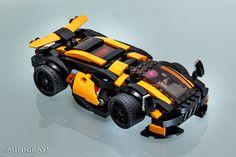Sci-fi SuperCar ver1.2 | by MiniGray!