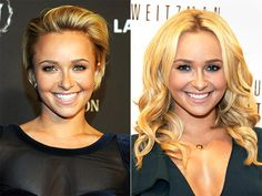 HAYDEN PANETTIERE  After sporting a short style for a few years, Hayden decided it was time for a change, growing out her hair into a layered, curly look.