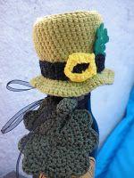 Fun and Fang: Irish hat free pattern. FP 1/15.