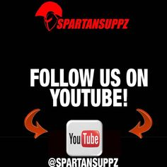 Subscriibe to stay up to date with the latest supplement reviews and gym related content on our YouTube channel! Subscribe to @spartansuppz