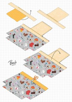 Amai, Projects To Try, Felt, Diys, Kids Rugs, Sewing, Cuir Vintage, Dressmaking, Handbag Patterns