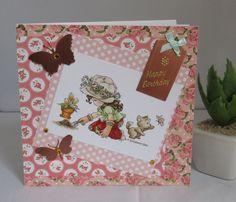 Geburtstagskarte Gartenarbeit, handgemacht von KartengalerieDoris auf Etsy Happy Birthday, Etsy, Frame, Decor, Handmade Birthday Cards, Worth It, Flowers, Happy Aniversary, Decoration
