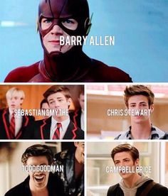 Barry Allen, Sebastian Smythe, and Grant Gustin One Shots - Star Struck -Grant Gustin- - Wattpad