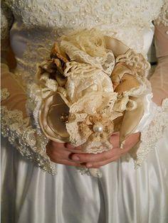 Beautiful Victorian Bridal Bouquet