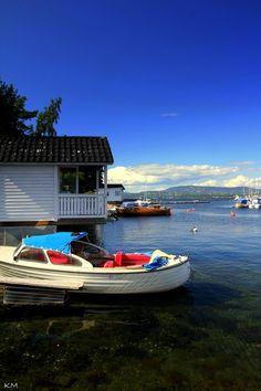 My hometown in Spring 2012 (Nesodden, Norway)