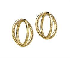 A PAIR OF COLOURED DIAMOND 'GLOBE' EAR CLIPS, BY JAR  45, 495$