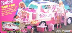 Barbie Mini Van. Thought this was the coolest thing when I was still going through the stage of my life where I was fascinated with mini vans. Was the top loot I got for Christmas in 1995.