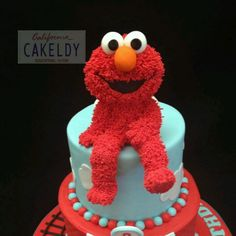 Elmo Cake....so cute!