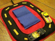 felt car roll tutorial