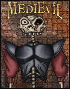 MediEvil - Daniel Fortesque by on DeviantArt Video Game Rooms, Video Games, Blue Cheer, Game Art, Digital Art, Deviantart, Fan, Room Ideas, Gaming
