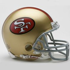 Riddell San Francisco 49Ers '64-'95 Throwback Mini Helmet $25.99