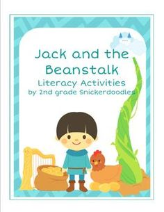 """Anchor Charts, 9 Literacy Activities for """"Jack and the Beanstalk"""", and a Reader's Theater $"""