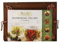 Numi Organic Tea Flowering Gift Set | whatgiftshouldiget.com