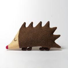 Sydney Hedgehog Lambswool Plush Toy  kundenspezifisch von saracarr, $50.00