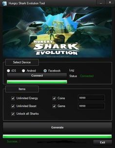 Hungry Shark Evolution Hack Download http://spectoraide.com/hungry-shark-evolution-hack/