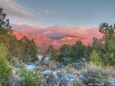Sangre de Cristo Mountains, New Mexico, by Nina Anthony