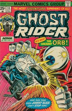 Cover for Ghost Rider (Marvel, 1973 series) #14 October 1975