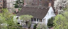 end of the porch open with steps !!      Dutch Colonial: Dyckman House, New York, NY (1783)