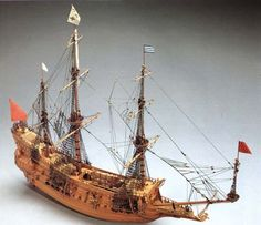 La Couronne Ma778 Historic Scale Model Ship, Boat Kit by Mantua Models