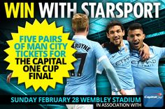 Source: Competition: Win Manchester City tickets for Capital One Cup final | Football | Premier League Transfer News, Scores, Results & More | Daily Star
