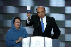 Khizr Khan, a Muslim immigrant whose son was killed while serving in Iraq, brought the Democratic National Convention to tears and raucous applause on  ...