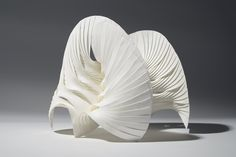 https://flic.kr/p/ehc6fw   Multipleat (Leaf)   Part of a series of small paper sculptures using hand-pleated paper components to create modular forms.  Paper and adhesive Dimensions (mm) 190 x 170 x 180   www.richardsweeney.co.uk