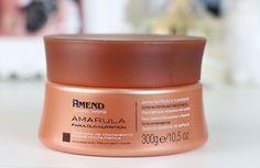 Máscara Nutritiva Amarula Amend: resenha no cabelo descolorido