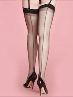 Silk Stockings with seams down the back of the leg are very sexy now. I would of thought the same back then as well.