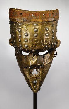 Africa | Salampasu Mask, Democratic Republic of Congo. c. prior to 1975