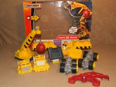 Matchbox Mega Rig Wrecking Rig Boxed #K7855 Age 4